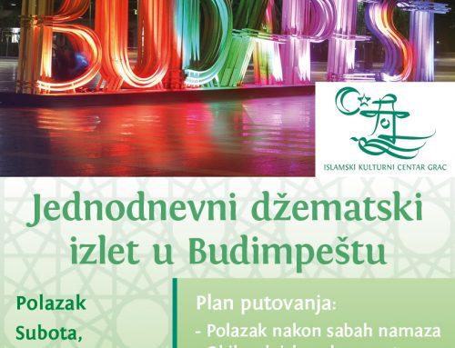 Jednodnevni džematski izlet u Budimpeštu