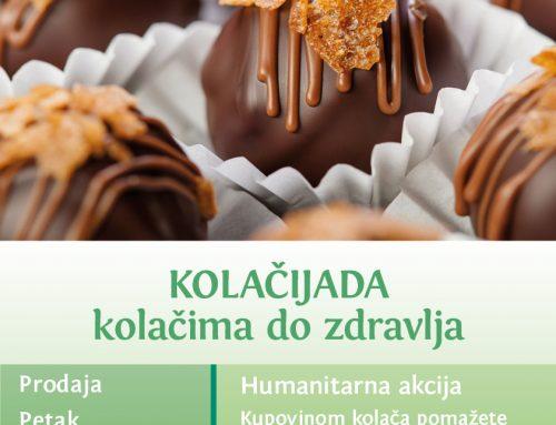 Kolačijada – kolačima do zdravlja