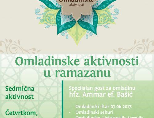 Omladinske aktivnosti u mjesecu ramazanu