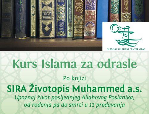 Kurs islama za odrasle: SIRA – Životopis Muhammeda a.s.