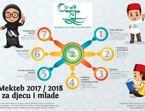 Mekteb 2017 / 2018 za djecu i mlade