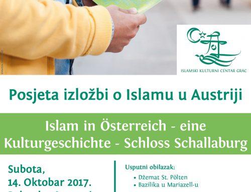 Islam in Österreich – eine Kulturgeschichte – Schloss Schallaburg