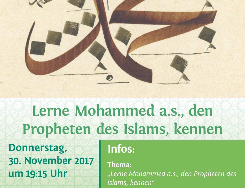Lerne Mohammed a.s., den Propheten des Islams, kennen