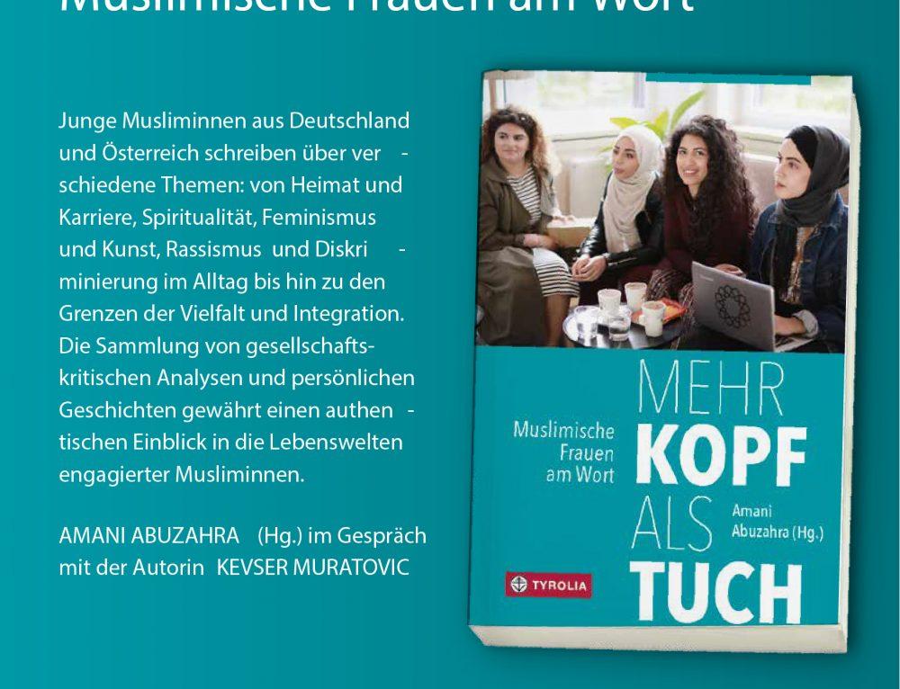 """Buchpräsentation """"Mehr Kopf als Tuch"""""""