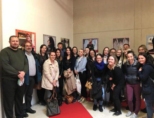 Besuch: LehrerInnen die an der KPH eine Fortbildung machen