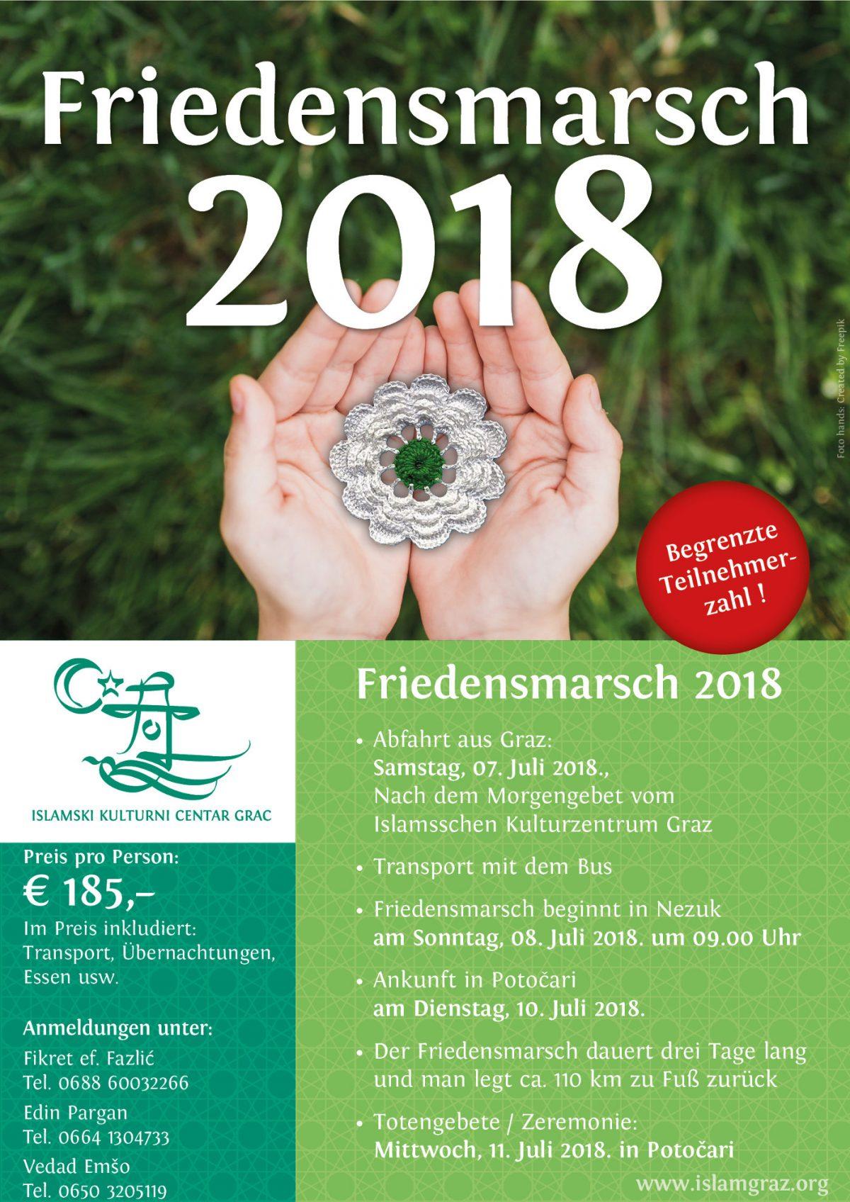 Friedensmarsch 2018