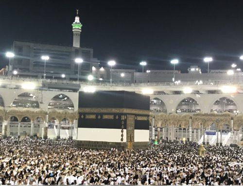 Festtagsgrüße unseres Obmannes aus Mekka