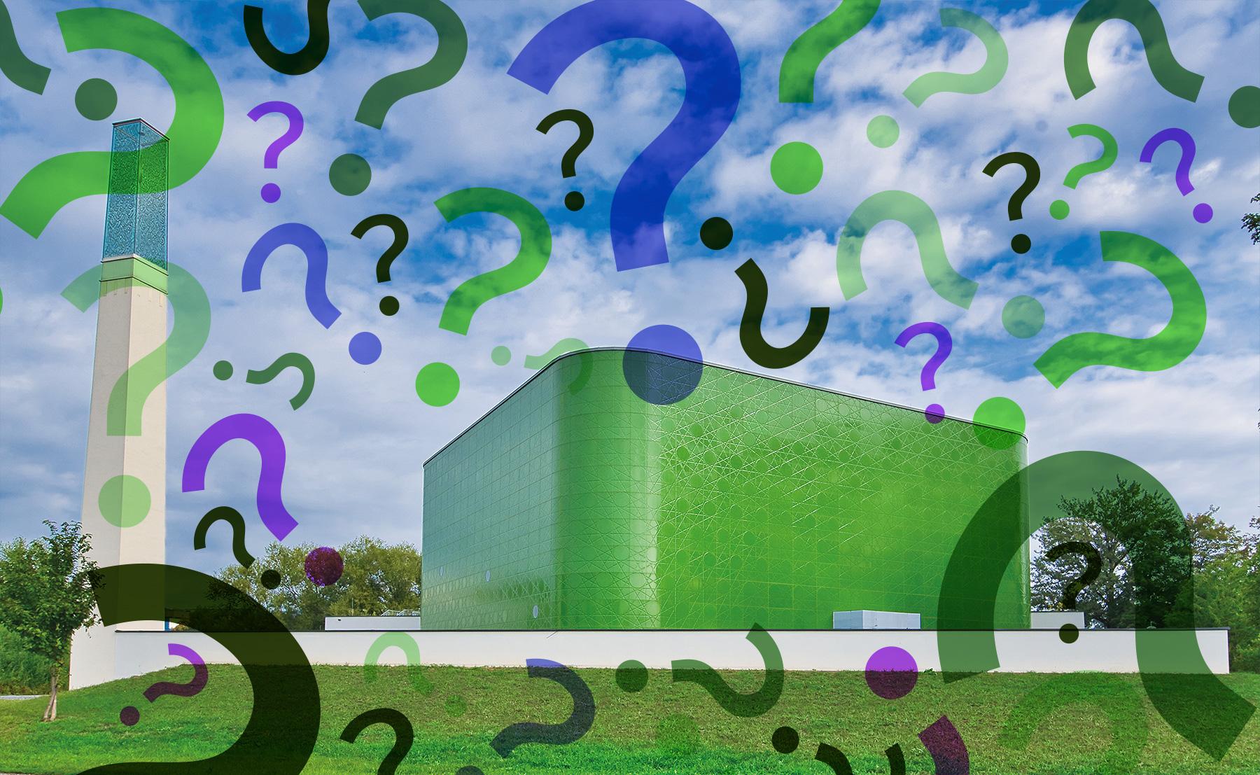 Grazer Moschee mit vielen Fragezeichen