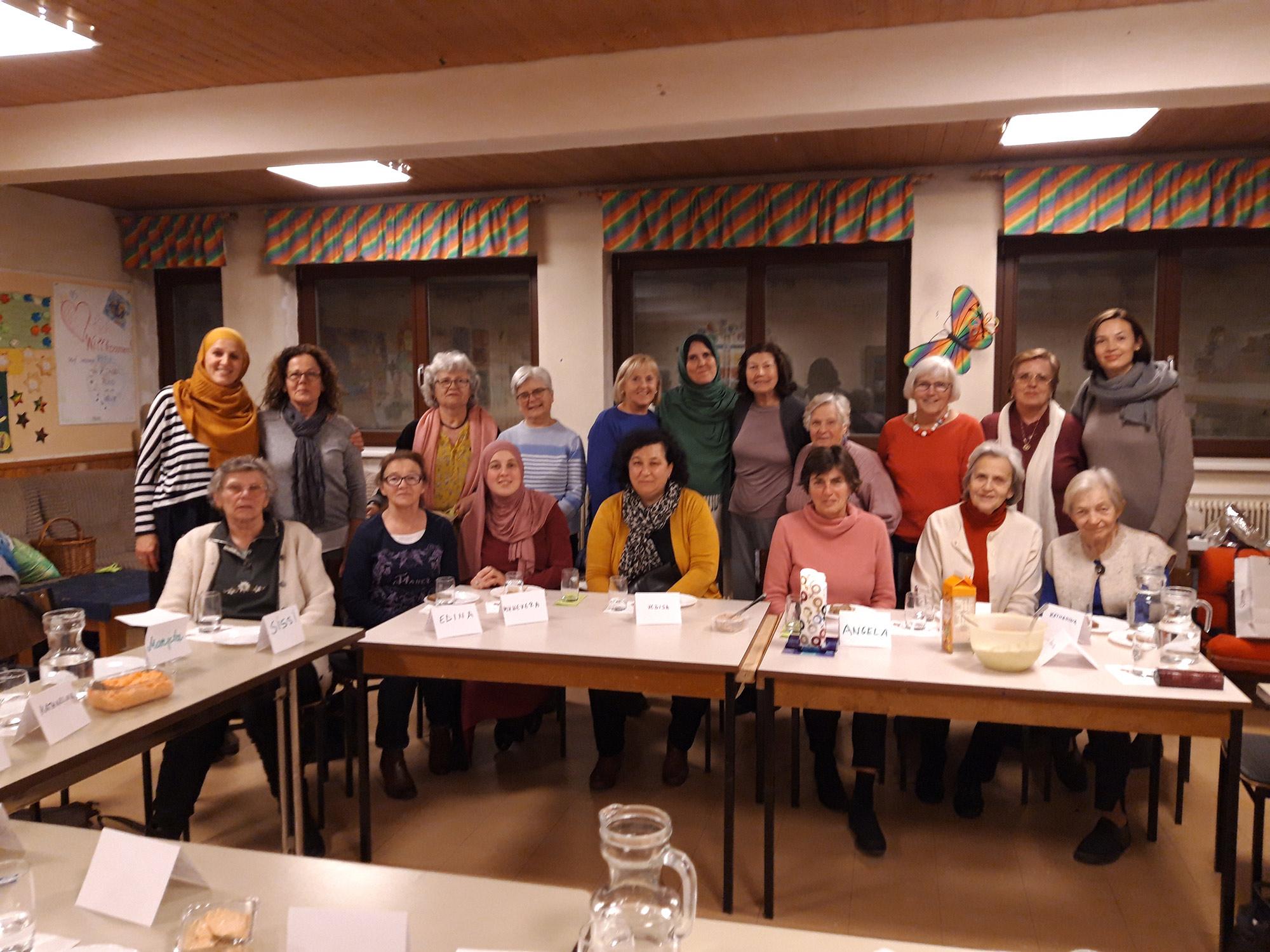 Frauen treffen sich, Kirche & Moschee, interreligiöser Dialog