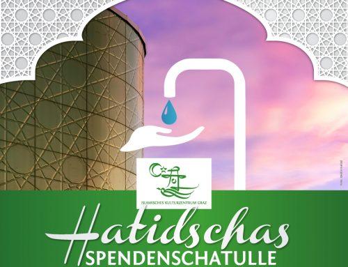 Hatidschas Spendenschatulle